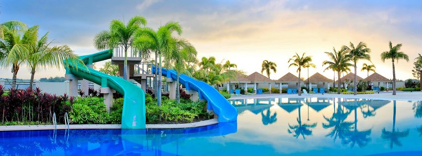 Antel grand village - Beach with swimming pool in cavite ...