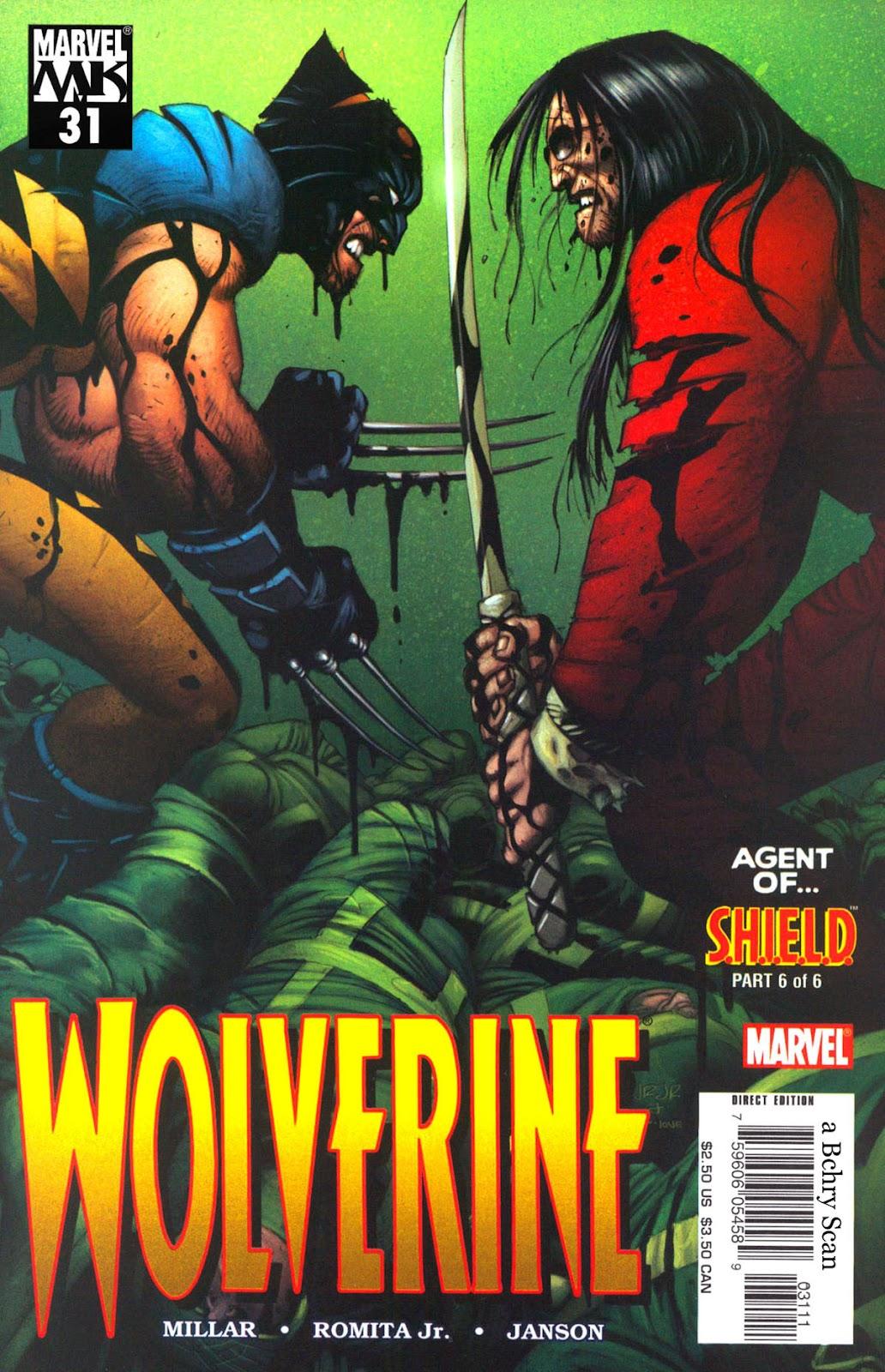 Read online Wolverine (2003) comic -  Issue #31 - 1