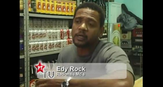 Entrevista - Edy Rock do Racionais Mc's. A música que transforma.