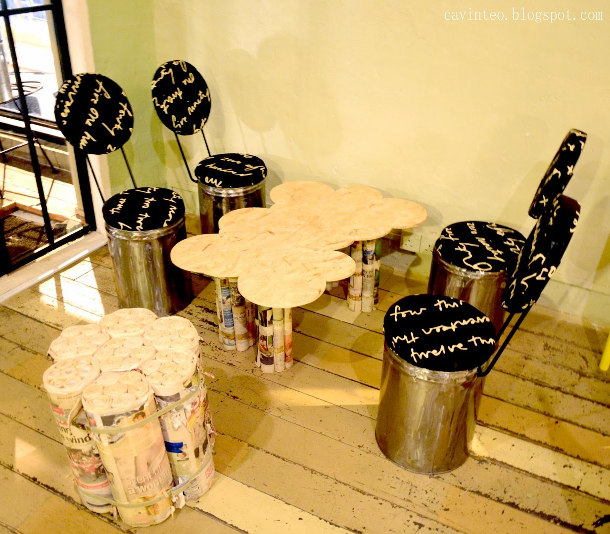entree kibbles: kafe roost - the eco friendly concept @ johor