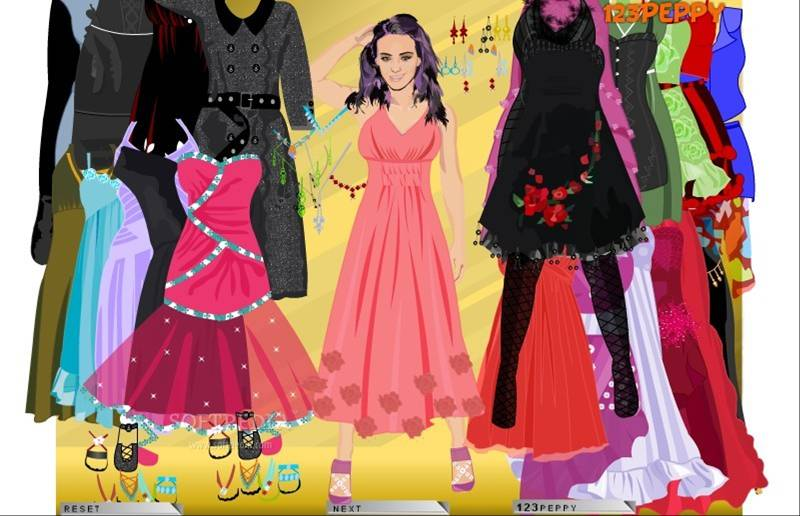 Free dress up games for girls online 2017