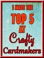 Crafty Cardmaker's Top 5