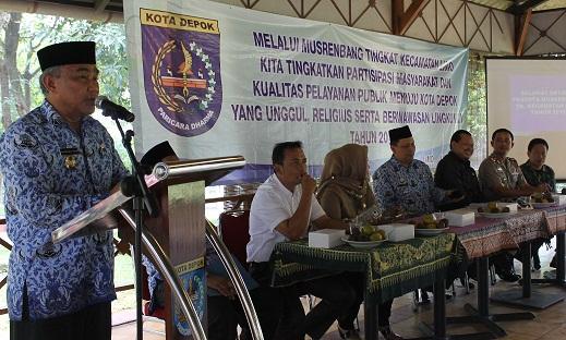 Warga Kecamatan Limo Butuh Puskesmas dan SMK Negeri