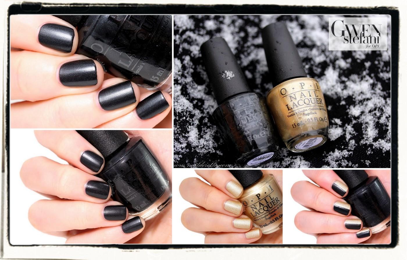 Gwen Stefani for OPI - the matte polishes   Nailderella   Bloglovin\'