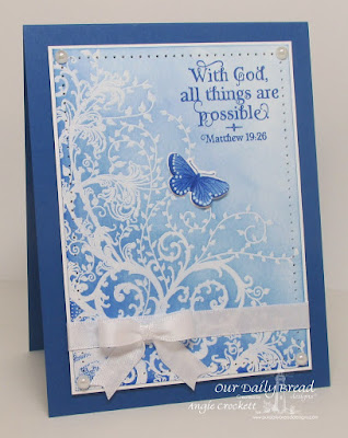ODBD Belles Vignes, ODBD God Verses, ODBD Butterfly and Bugs, ODBD Custom Butterfly and Bugs Dies, Card Designer Angie Crockett