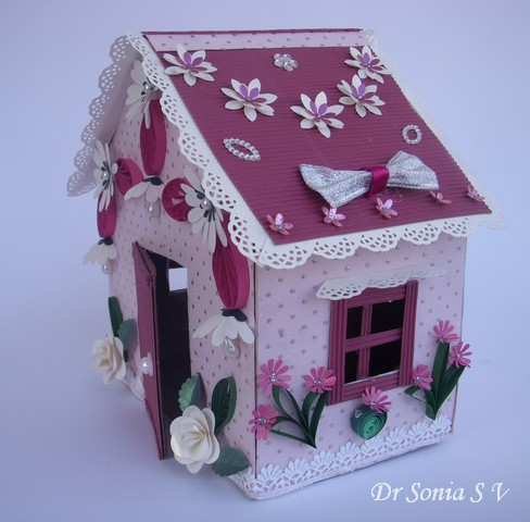 Cards ,Crafts ,Kids Projects: Recycling Craft- Doll House Making ...
