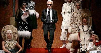 кокошник Chanel