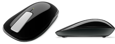 Microsoft Explorer Mouse Touch, Touch Mouse with BlueTrack Technology Advanced