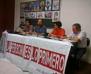 Medios de comunicación social y crisis. Organizado por la HOAC de Málaga. Mayo 2014