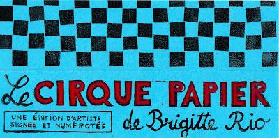 Cirque papier de Brigitte Rio