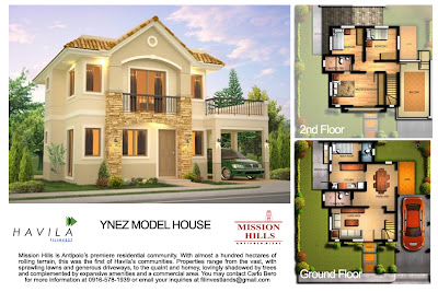 Mission Hills Antipolo | House Model Ynez