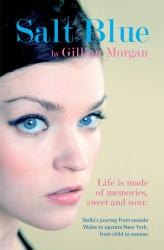 salt blue by gillian morgan, front cover detail