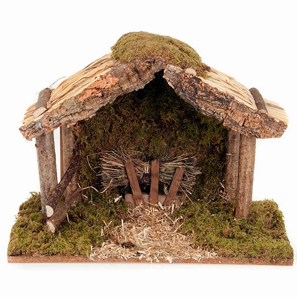 Capanna presepe fai da te la casa delle idee for Planimetrie semplici della casetta di legno