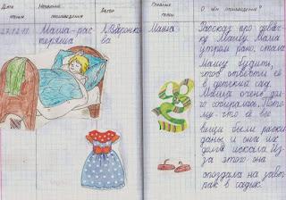 Читательский дневник 1 класс как сделать