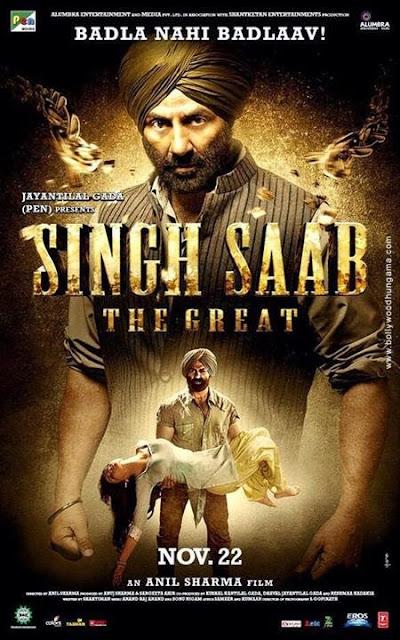 Singh Saab the Great 2013 HDRip 400mb