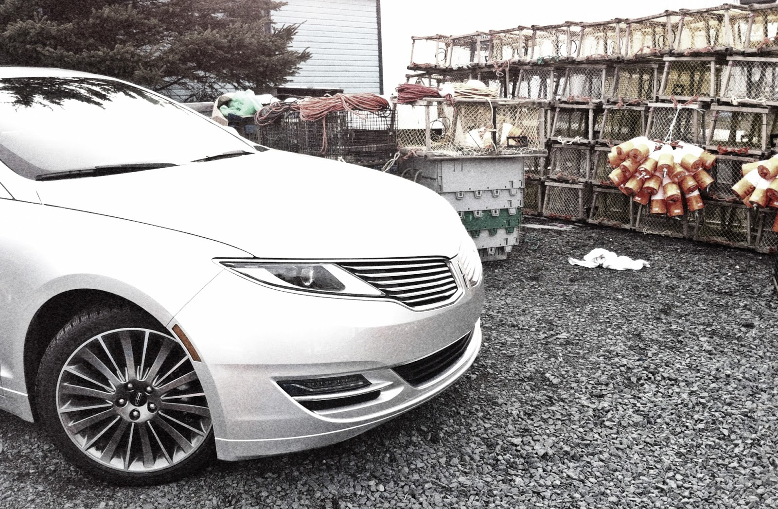 2014 Lincoln MKZ Hybrid lobster traps