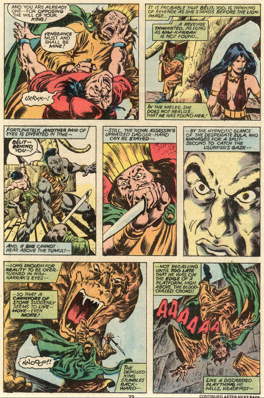 Conan the Barbarian (1970) Issue #93 #105 - English 14