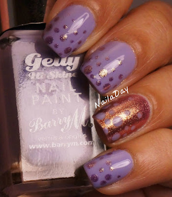 NailaDay: Barry M Prickly Pear and OPI Rally Pretty Pink Dots update