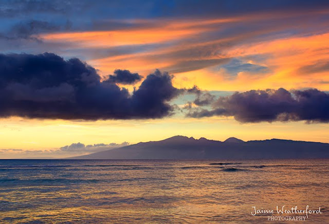 Maui sunset hawaii Hale Mahina Jaime Weatherford