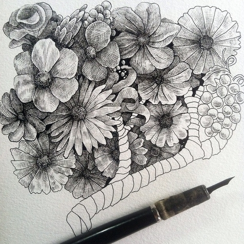 26-Flowers-Muthahari-Insani-Beautifully-Detailed-Ink-Drawings-and-Doodles-www-designstack-co