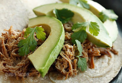 10 Delicious Recipes for Slow Cooker Pork Carnitas from Food Bloggers featured on SlowCookerFromScratch.com