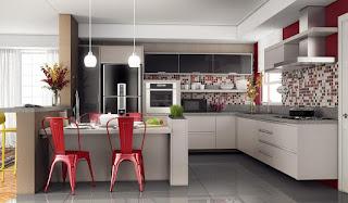 modello e mobili cucina