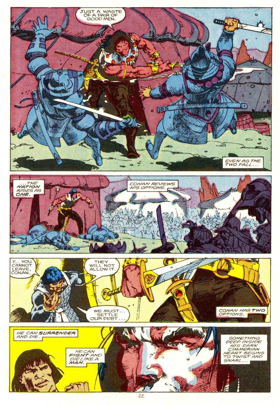 Conan the Barbarian (1970) Issue #207 #219 - English 18
