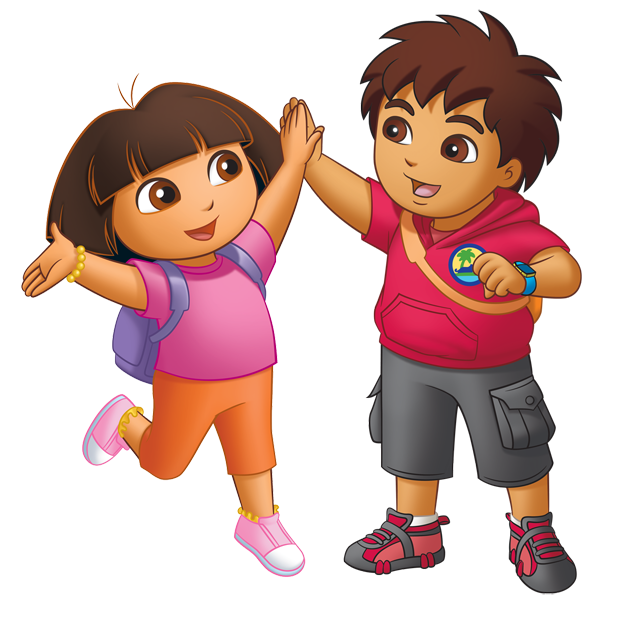 Dora And Diego See A Picture