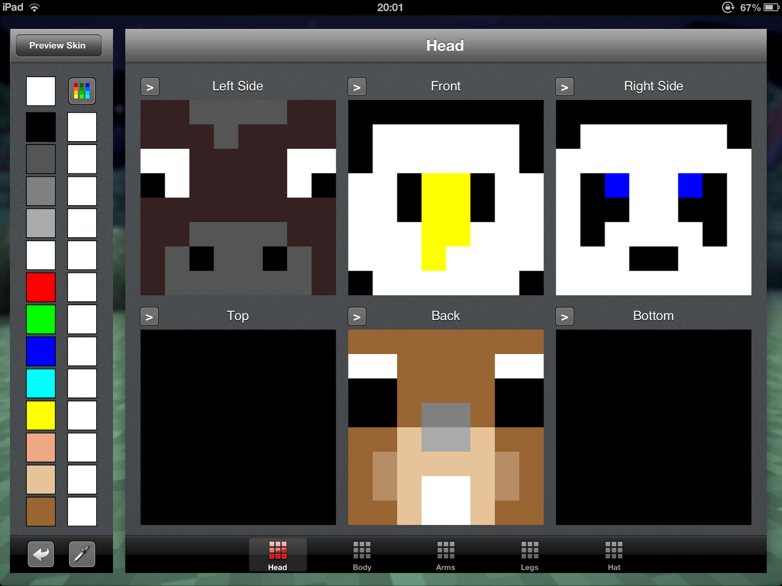 45lovers minecraft skin template minecraft skin template pronofoot35fo Gallery