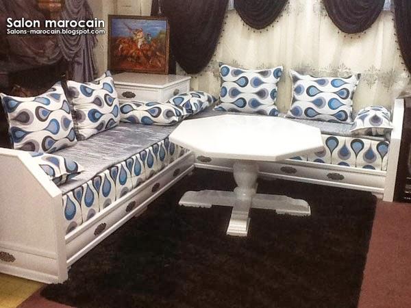 Salon marocain moderne attrayant 2014