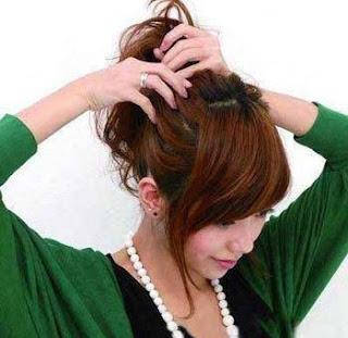 iket+rambut Inilah Saat Saat Dimana Cewek Terlihat Cantik Dan Menggairahkan