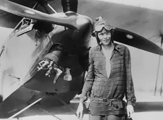 Amelia Earhart Pilot Wanita Pertama Di Dunia