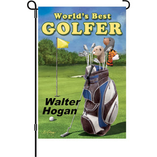 Personalized golf flag