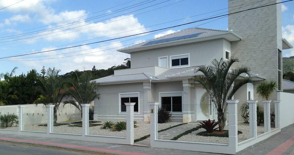 Fachadas and google on pinterest for Google casas modernas