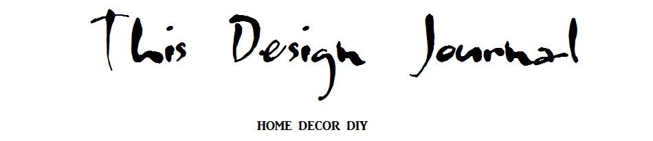 This Design Journal