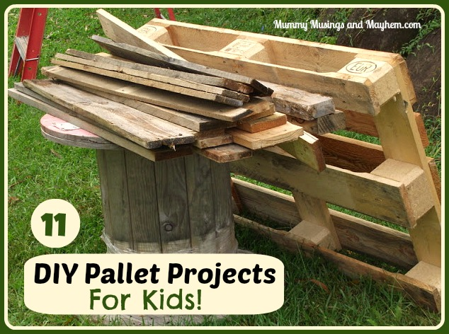 Diy recycled pallet projects for kids - Diy projects with wooden palletsideas easy to carry out ...