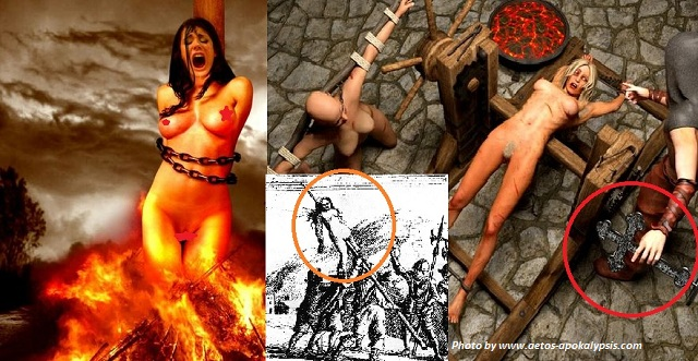 Ιερά εξέταση  γενοκτονία με βασανιστήρια  όσες ειχαν σύνδεση ... Πως θα σας φαινόταν να ειστε με κάποιον που κάποτε σας έκανε αυτά στην φώτο?