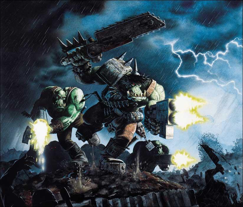 L'universo di Warhammer 40k - gli Orki