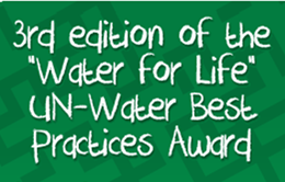 """""""Água para a Vida"""": Prêmio Melhores Práticas / ONU-Água"""