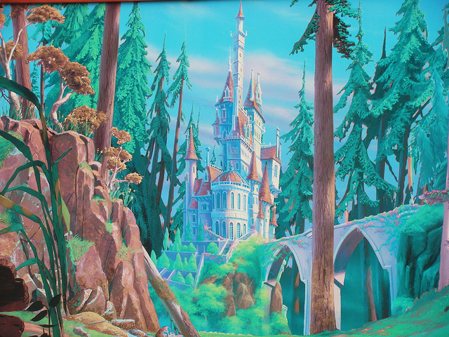 The World's Beefiest Disney Blog: Disney 30 Day Challenge ... Beauty And The Beast Castle