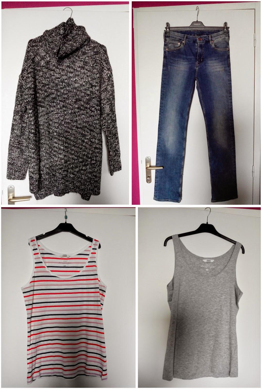 pull, jeans, débardeurs, h&m, soldes, bullelodie
