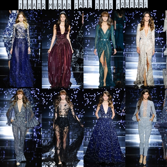 ZUHAIR MURAD Fall 2015 Couture: Queen of stars! Zuhair Murad kolekcija.Visoka moda, jesen-zima 2015/16.Best couture collections fall 2015.