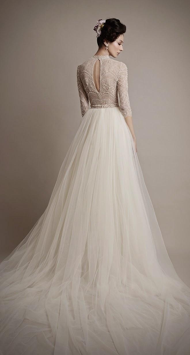 ersa atelier 2015 bridal collection belle the magazine ForErsa Atelier Wedding Dress
