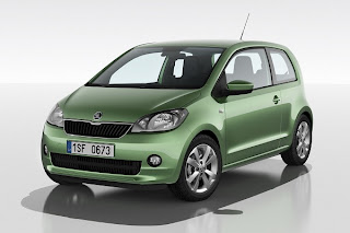 Skoda Citigo (2012) Front Side