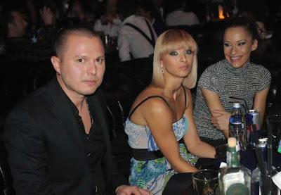 """Любимата на Слави Трифонов - балерината от """"Мага Данс"""" Мартина, се появи на афтърпартито след концерта на ТВ """"Планета""""."""