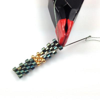 2 Needle Method for Odd-Count Peyote