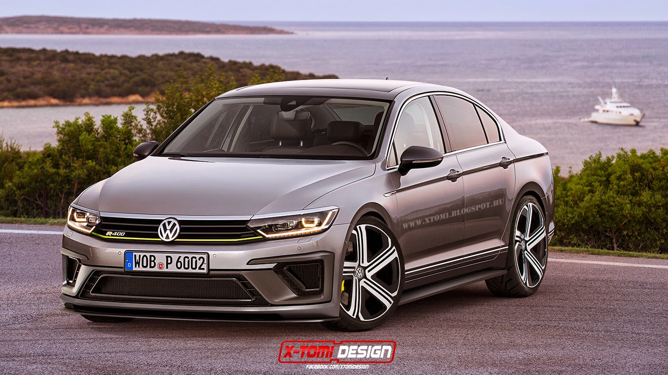 X-Tomi Design: Volkswagen Passat R400 Concept