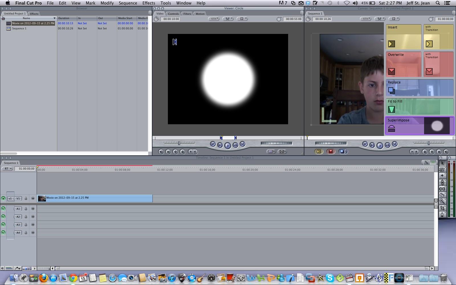 final cut pro 6 help blur a face and the basics of fcp rh finalcutpro6help blogspot com Final Cut Pro Tutorial Final Cut Pro Student Discount