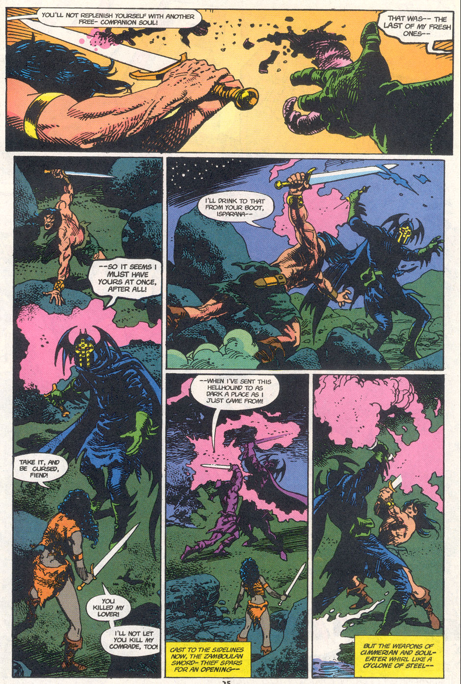 Conan the Barbarian (1970) Issue #272 #284 - English 19