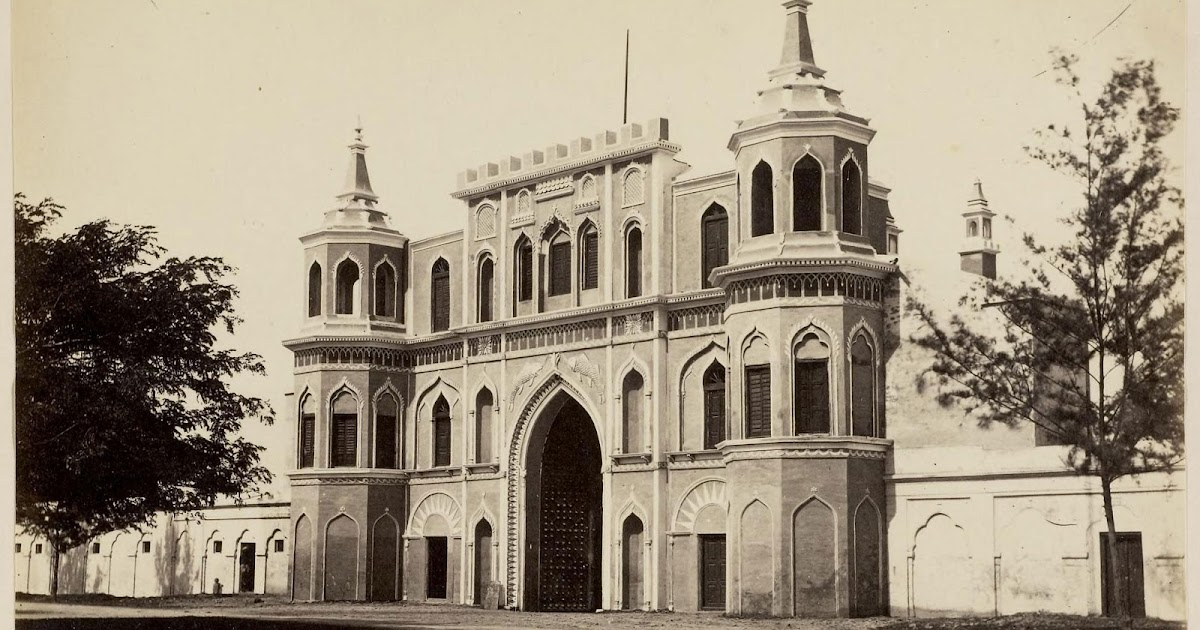 Mottee mahal lucknow 1870 39 s old indian photos for Architecture design for home in lucknow